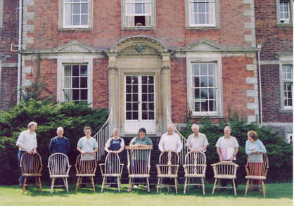 Windsor Chair Class at Urchfont Manor
